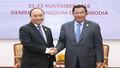 Thủ tướng Việt Nam – Campuchia muốn sớm hoàn thành phân giới cắm mốc