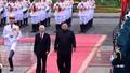 Tổng Bí thư, Chủ tịch nước Nguyễn Phú Trọng hội đàm với Chủ tịch Triều Tiên
