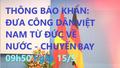 Thu xếp chuyến bay đưa công dân Việt Nam từ Đức về nước