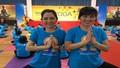 1000 người hưởng ứng Ngày Quốc tế Yoga tại TP. Hồ Chí Minh.