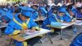 """600 học sinh giỏi khai bút đầu xuân về """"Hải Phòng trong ước mơ của em"""""""