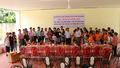 Tặng quà cho nạn nhân chất độc da cam/dioxin tại tỉnh Tây Ninh