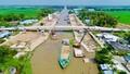 Âu thuyền Ninh Quới - giải pháp hữu hiệu ứng phó với hạn hán, nhập mặn