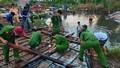 Kiên Giang lốc xoáy làm sập và tốc mái 37 căn nhà