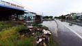 Quốc lộ 1A thuộc khu vực thị trấn Hòa Bình (Bạc Liêu) cần có hệ thống thoát nước