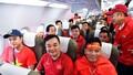 Tập đoàn Masan thuê máy bay Boeing 787 đưa CĐV sang UAE cổ vũ Đội tuyển Việt Nam