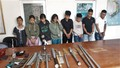 Thu giữ nhiều vũ khí nóng khi triệt phá ổ ma tuý ở Bà Rịa – Vũng Tàu