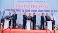 Khai trương Trung tâm phục vụ hành chính công và Trung tâm điều hành thông minh tỉnh Lào Cai