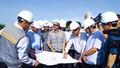 Chủ tịch UBND tỉnh Quảng Ngãi kiểm tra tiến độ thi công công trình cầu Cổ Lũy
