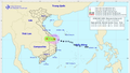 Bão số 6 suy yếu thành áp thấp nhiệt đới sau khi đi vào Quảng Nam, Quảng Ngãi