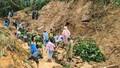 Tìm thấy thi thể nạn nhân trong vụ sạt lở ở xã Trà Tân