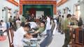 Hơn 100 công an Thừa Thiên Huế hiến máu nhân đạo