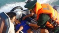 Cứu thuyền viên đột quỵ cùng 6 người gặp nạn trên biển