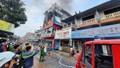 Cháy lớn tại một siêu thị điện máy ở Quảng Bình