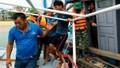 4 thuyền viên tàu cá được cứu kịp thời khi tàu bị sóng lớn đánh chìm