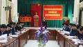 Tổ biên tập Văn kiện Đại hội đại biểu Đảng bộ tỉnh Thái Nguyên làm việc với Sở NN&PTNT