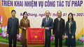 Bắc Giang tổng kết công tác tư pháp năm 2020, triển khai nhiệm vụ năm 2021
