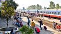 Đường sắt tiếp tục giảm 30% giá vé tàu Tết, tăng cường phòng chống dịch bệnh Covid- 19
