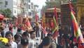 """Độc đáo lễ hội """"Con đĩ đánh Bồng' ở Triều Khúc"""