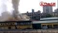 """Chật vật dập xong lửa bên đường Trường Chinh, hàng chục DN """"thở phào"""""""