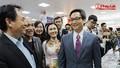 Phó Thủ tướng Vũ Đức Đam thăm gian trưng bày báo Pháp luật Việt Nam