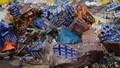 Đồng Tháp tiêu hủy 542.000 gói thuốc lá nhập lậu