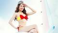 """Lịch """"nóng""""- bikini Vietjet- nhận được nhiều thiện cảm"""