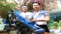 Máy thu gom nông sản tự động của hai nam sinh trung học