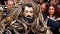 Sởn da gà dự lễ hội rước rắn kinh dị ở Italia