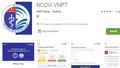 Ứng dụng NCOVI liên tục cập nhật các tính năng mới trong mùa dịch Covid-19
