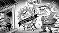 """Những băng đảng một thời khét tiếng Hà Thành – Kỳ 6: Độc chiêu đòi nợ kiểu """"rung cây dọa khỉ"""""""