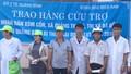 500 phần quà đến với người dân vùng lũ Quảng Bình