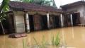 Hàng nghìn nhà dân ngập trong nước ở Cam Lộ (Quảng Trị)
