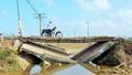 Thừa Thiên Huế: Cống sập sau lũ, nguy hiểm rình rập người dân
