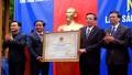 Huế: Đón nhận bằng Di sản văn hóa phi vật thể quốc gia nghề dệt dèng