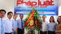 Lãnh đạo tỉnh Thừa Thiên Huế thăm VPĐD Báo Pháp luật Việt Nam Khu vực Bình Trị Thiên