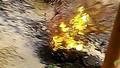 """Hố tử thần"" phun lửa tại TP HCM"