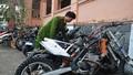 Dàn môtô 'khủng' bị thu giữ tại công an Quảng Trị