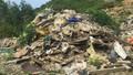 Hà Tĩnh: Phát hiện nhiều tấn rác thải cạnh mỏ đá nghi là của Formosa