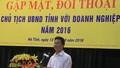 """Hà Tĩnh:  Chủ tịch tỉnh trẻ nhất nước, ngồi ghế """"nóng"""" đối thoại với doanh nghiệp"""