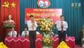Thường trực Ban Bí thư Trần Quốc Vượng gửi hoa chúc mừng Đại hội Đảng bộ xã An Ninh (Thái Bình)