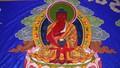 Đức Gyalwang Drukpa tặng tranh thêu Phật Quan Âm khổng lồ