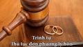 Trình tự, thủ tục ly hôn đơn phương