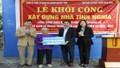 Ninh Bình: Khởi công xây dựng nhà tình nghĩa cho hộ dân nghèo