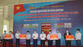 """3.000 công nhân, lao động được phát gạo miễn phí ở """"ATM gạo"""" Đồng Văn"""