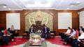 UBND tỉnh Hưng Yên làm việc với đoàn công tác của Đại sứ quán Hàn Quốc tại Việt Nam