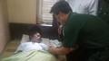 Thanh Hóa: tầu cá ngư dân trú bão cứu được 2 ngư dân trôi dạt trên biển