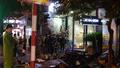 Cửa hàng kinh doanh thiết bị y tế bốc cháy trong đêm