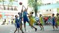 62 trường tham gia Giải Bóng rổ Học sinh Tiểu học