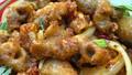 Bao tử cá basa nướng tỏi ớt